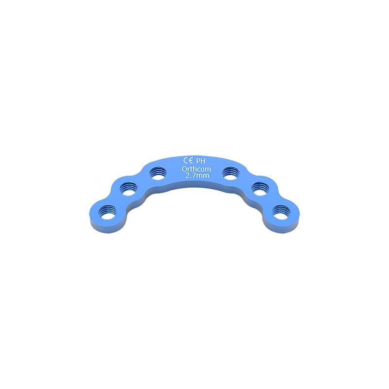 2.7mm Titanium Acetabular Locking Plates  AP2733T