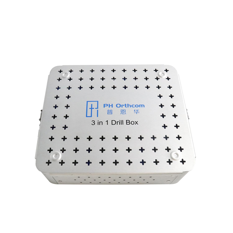 Sterilization Box for 3 in 1 Drill and Saw Set