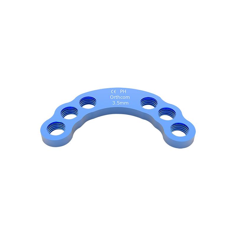3.5mm Titanium Acetabular Locking Plates AP3533T